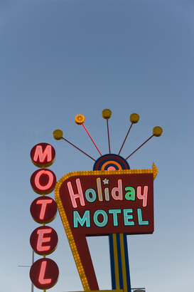 Foto: Neonreclame - motel neon sign, las vegas, nevada, usa