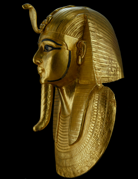 Egypt & Middle East pictures Wall Art as Canvas, Acrylic or Metal Print Goldmaske Psusennes I.