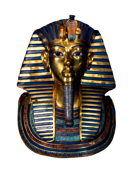 Egypt & Middle East pictures Wall Art as Canvas, Acrylic or Metal Print Tut-anch-Amun / Goldmaske um 1340 v.Chr.