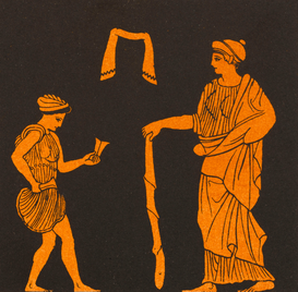 Ancient Greece pictures Wall Art as Canvas, Acrylic or Metal Print GREEK DANCING LESSON