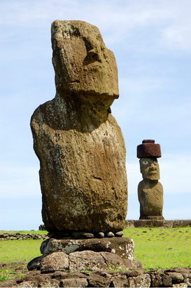 Inca, Maya & Easter Island pictures Wall Art as Canvas, Acrylic or Metal Print Moais auf der Osterinsel