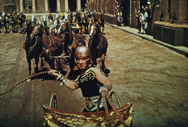Roman Empire pictures Wall Art as Canvas, Acrylic or Metal Print Ben Hur