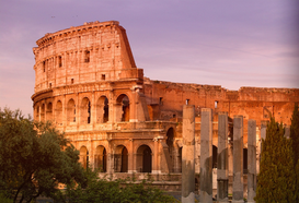 Roman Empire pictures Wall Art as Canvas, Acrylic or Metal Print Colosseum, Rome, Italy