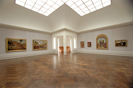 Foto: Interieur - Kulturforum Berlin - Gemäldegalerie