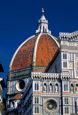 Pictures of famous buildings Wall Art as Canvas, Acrylic or Metal Print SANTA MARIA DEL FIORE CATHEDRAL FLORENCE ITALY
