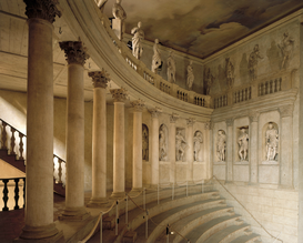 Pictures of famous buildings Wall Art as Canvas, Acrylic or Metal Print Vicenza, Teatro Olimpico, Innenansicht