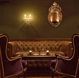Interieur- & Treppen-Bilder z.B als Leinwandbild oder Wandbild hinter Acrylglas: Rex Cinema Bar, London. Seating area 06.