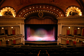 Indoor & Stairway pictures Wall Art as Canvas, Acrylic or Metal Print Spreckels Theater
