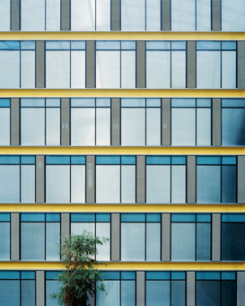 Modern architecture pictures Wall Art as Canvas, Acrylic or Metal Print Building facade
