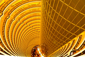 Modern architecture pictures Wall Art as Canvas, Acrylic or Metal Print Jin-Mao-Tower