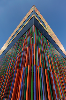 Architecture Photography Wall Art as Canvas, Acrylic or Metal Print Museum Brandhorst in München