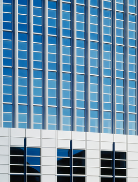 Architecture Photography Wall Art as Canvas, Acrylic or Metal Print Office building facade