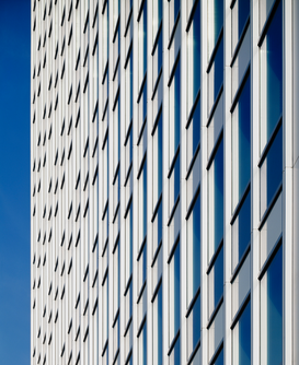 Modern architecture pictures Wall Art as Canvas, Acrylic or Metal Print Vodafone Hochhaus