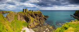 Castle pictures Wall Art as Canvas, Acrylic or Metal Print Dunnottar Castle, Scotland, UK