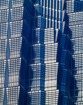 Skyline & skyscraper pictures Wall Art as Canvas, Acrylic or Metal Print Jin Mao Tower