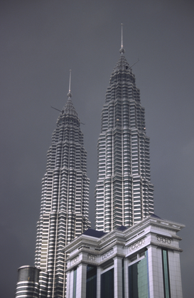 Architecture Photography Wall Art as Canvas, Acrylic or Metal Print Petronas Towers