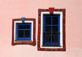 Pictures of doors & windows  Wall Art as Canvas, Acrylic or Metal Print Hotel Rogner / Bad Blumau