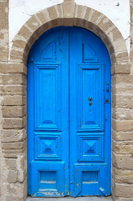Pictures of doors & windows  Wall Art as Canvas, Acrylic or Metal Print Marokko- Essaouira