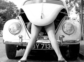 Bestselling Pictures Wall Art as Canvas, Acrylic or Metal Print VW Girl