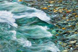 Affiches pierres pour les toiles ou images murales sous acrylique par exemple Rocks and waters of Verzasca River
