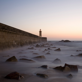 Foto: Piedras y minerales - Sunset at lighthouse