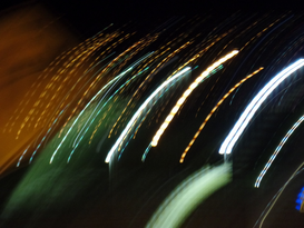 EyeEm Abstrakte Bilder z.B als Leinwandbild oder Wandbild hinter Acrylglas: Abstract Image Of Light Trails