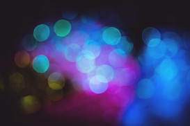 EyeEm Abstract Foto's bijv. als canvasfoto of wandfoto achter acrylglas: Defocus Image Of Spotlights