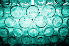 EyeEm Abstract pictures Wall Art as Canvas, Acrylic or Metal Print Full Frame Shot Of Glass Bottles