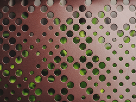 EyeEm Abstract pictures Wall Art as Canvas, Acrylic or Metal Print Full Frame Shot Of Perforated Metal