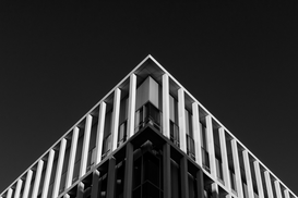 EyeEm Abstract pictures Wall Art as Canvas, Acrylic or Metal Print Triangle structure of a building