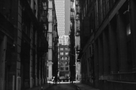 Editor′s Choice Pictures Wall Art as Canvas, Acrylic or Metal Print View Of Alley