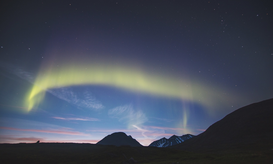 EyeEm Landscape pictures Wall Art as Canvas, Acrylic or Metal Print Low Angle View Of Aurora In Sky During Sunset
