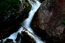 EyeEm pictures Wall Art as Canvas, Acrylic or Metal Print River Flowing Through Rocks