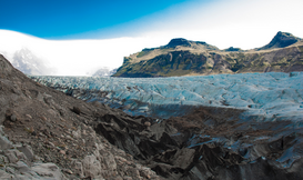 EyeEm pictures Wall Art as Canvas, Acrylic or Metal Print Scenic View Of Glaciers Against Sky