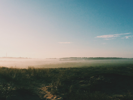 EyeEm pictures Wall Art as Canvas, Acrylic or Metal Print View Of Tranquil Foggy Landscape