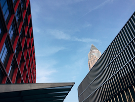 Foto: Steden - High Section Of Built Structures Against The Sky