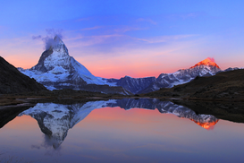 Landscape pictures Wall Art as Canvas, Acrylic or Metal Print Matterhorn im Morgenlicht