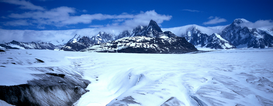 Pictures of Europe & the Alps  Wall Art as Canvas, Acrylic or Metal Print Neumayer Glacier / Three Sisters / Neumayer-Gletscher