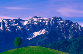 Pictures of Europe & the Alps  Wall Art as Canvas, Acrylic or Metal Print Tannheimer Gruppe