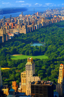 Parcs & jardins images pour les toiles ou images murales sous acrylique par exemple Central park West in Manhattan NYC