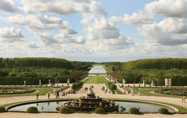 Landscape pictures Wall Art as Canvas, Acrylic or Metal Print Unterwegs in Frankreich - Versailles