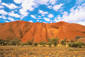 World travel pictures Wall Art as Canvas, Acrylic or Metal Print Ayers Rock, Australien