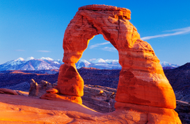 Canadian & American Landscapes Wall Art as Canvas, Acrylic or Metal Print Delicate Arch