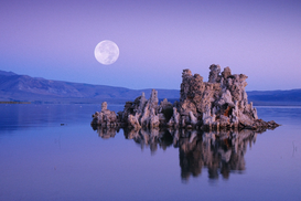 Landscape pictures Wall Art as Canvas, Acrylic or Metal Print Mondaufgang - Mono Lake - USA
