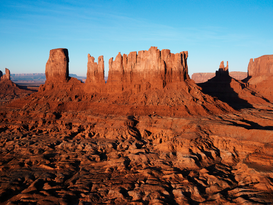 Landscape pictures Wall Art as Canvas, Acrylic or Metal Print Monument Valley