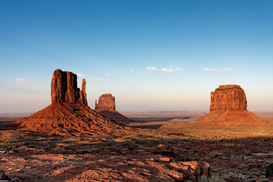 USA & Canada Foto's bijv. als canvasfoto of wandfoto achter acrylglas: Monument Valley in Utah, USA