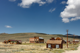 Canadian & American Landscapes Wall Art as Canvas, Acrylic or Metal Print USA - Geisterstadt Bodie