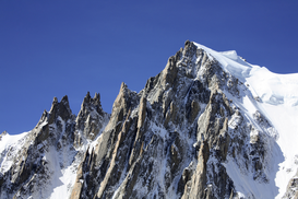 Foto: Alpen & Europa - Mountains in french alps near mont blanc