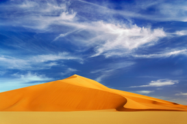 Foto: Woestijn - Dunes in the Murzuq Desert