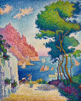 Bestselling Pictures Wall Art as Canvas, Acrylic or Metal Print P.Signac, Capo di Noli bei Genua